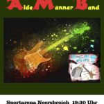 Alde Männer Band zu Gast in Neersbroich